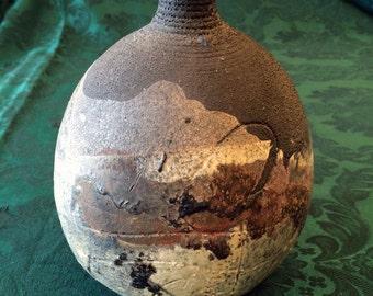 Raku, Raku Vase, Ceramic Vase, Raku Pottery, Raku Urn, Raku Bowl, Pottery, Pottery Vase, Pottery handmade, Handmade Pottery, clay pots