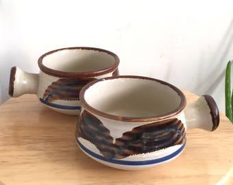 Stonecrest Soup Bowls  // Vintage Pottery