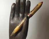 NEW BANKER Vintage Dual Fountain Pen and Mechanical Lead Pencil 1930s/ 40s BAKELITE era
