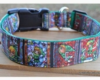 Link Zelda dog collar & or leash