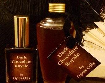 DARK CHOCOLATE Royale  Gift Set - 1 oz EDP Spray and 3.3 oz Bath & Body Oil