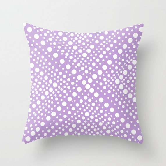 OUTDOOR Throw Pillow - Lavender Patio Cushion - Modern Geometric X Dot - Outdoor Pillow 16 18 20 inch - Outside Pillow Lavender Throw