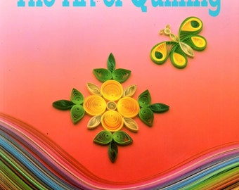 Art of Quilling Learn How to Coil Paper Strips Make Shapes Flowers Butterfly Birds Leaves Stars Rabbit Squirrel Fish Hair Craft Pattern Book