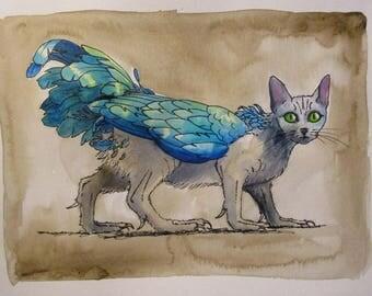 Secret Things - original sketch by Kellie Marian Hill