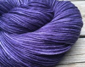 Hand Dyed Sock Yarn the K...