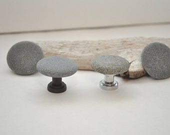 Choose Your Hardware - Beach Rock Cabinet Knobs - Set of Four Small