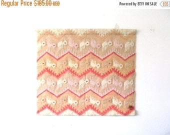 On Sale Vintage Don Freedman Woven Wall Hanging