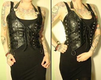 Kissin' Bombs studded corset top