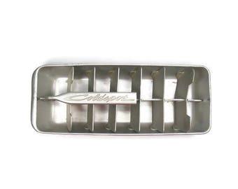 Coldspot Metal Ice Cube Tray Vintage Freezer Tray Large Ice Cube