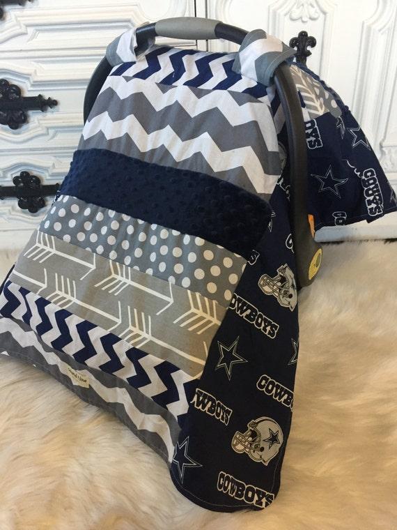 Car seat cover Dallas Cowboys / Car seat cover / car seat canopy / carseat cover / carseat canopy / nursing cover