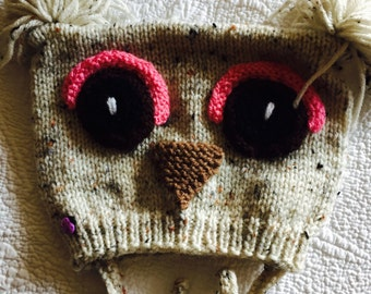Owl hat  End of season sale