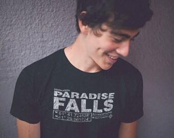 Paradise Fall, Adventure book tshirt