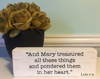 YOUR CHOICE of Bible verse, up to 4 hand painted lines, quote, scripture, inspiration, sign, church, pastor, gift