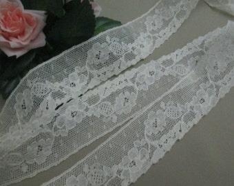 Antique Lace Vintage Lace Trim Cotton Off White