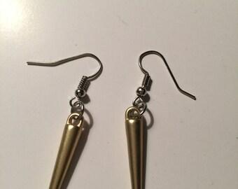 Spike earring, spike earrings, spike jewelry, spike dangle, spike dangles, spike, spikes, Dangle spike earring, dangle spike earring,