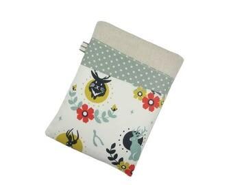 iPad Mini Case, Personalised Gift for Women, Jackalope Kindle Cover, Paperwhite Case, Kobo Aura Sleeve
