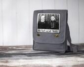 Field Bag / Messenger Bag - Canvas Bag -  He Had Me at Hello - Vintage Photo
