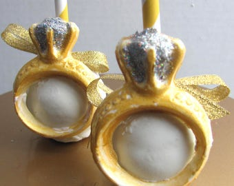 Wedding Ring Cake Pops