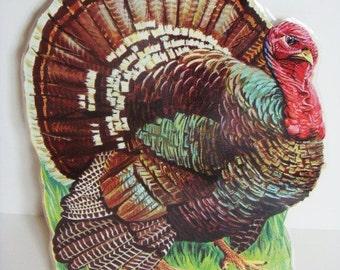 Thanksgiving Turkey Die Cut Thanksgiving Decoration