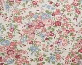 Liberty tana lawn printed in Japan - Tatum - Rose khaki mix