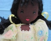 "Halley,  a 12"" African American Edith Flack Ackley pattern doll"