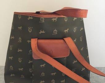 Vintage Handmade Spanish El Caballo Equestrian Handbag