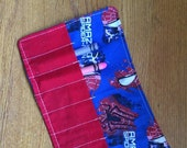 SALE March Madness SALE Crayon Roll up spiderman more crayon rolls in my shop
