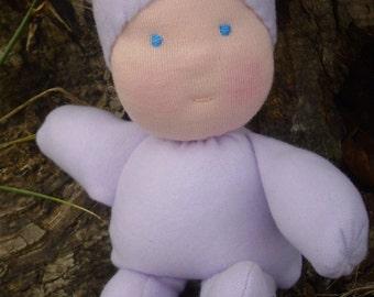 Waldorf doll, baby's first doll, rag doll, softie, cloth doll, baby shower, newborn gift, baby doll