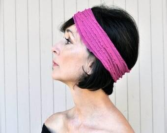 Boho ruffle headband ombré multi, zebra, berry, mocha, black, baby pink, teal, ivory, yellow mini ruffle stretch headband for women or girls