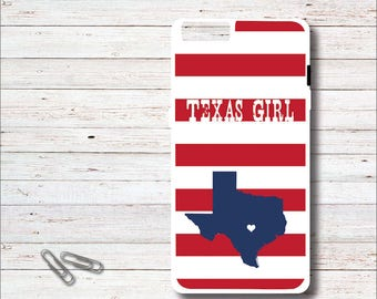 Personalized Phone Case, Mother's Day Gift, iPhone Case, Gift for Mom, Texas Girl, Texas Phone Case, Texas, Birthday Gift, Gift for Her