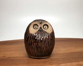 Studio Pottery Owl