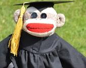 Sock Monkey Graduate