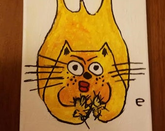 Yellow Cat Dot