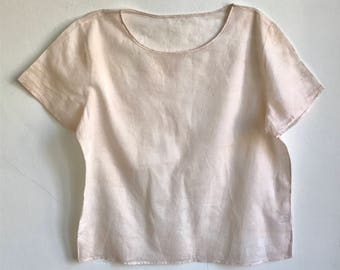 Soft Clay Naturally Dyed Top - M/L