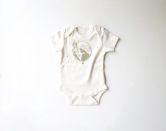 Virgo  | Organic Baby Bodysuit | Astrology Baby Gift | Screen Printed One Piece | Zodiac Sign | Infant One Piece | Baby Shower Present