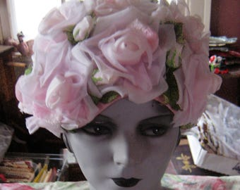 Stop and Smell The Roses Marshall Fields Rose Hat