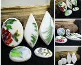 Mixed Lot Miss Matched China Free Form Hand Cut Cabochon