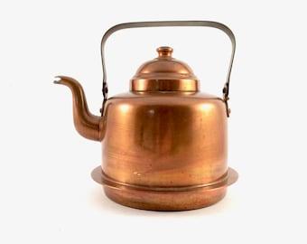 Vintage Copper Kettle Rustic Copper Kitchen Decor