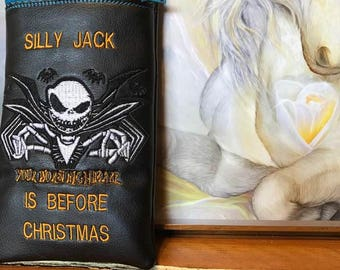 New Jack Skellington pipe pouch
