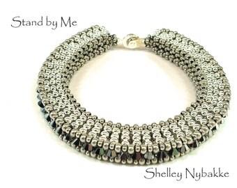 Stand by Me Bracelet DIY Kit  -  Silver Oxide/Silver