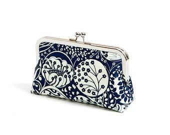 Liberty of London Print Art Nouveau clutch bag, Geometric clutch, Party clutch, Formal purse, Bridesmaids gift,