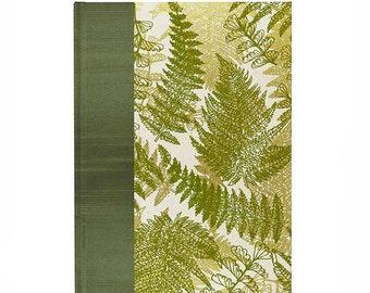 Journal Blank Paper Woodland Fern