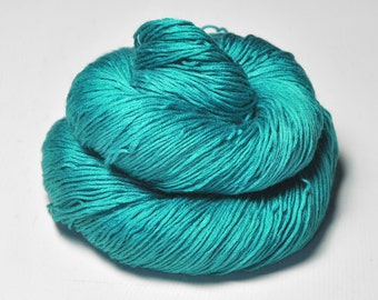 Ground turquoise - Silk/Cashmere Lace Yarn