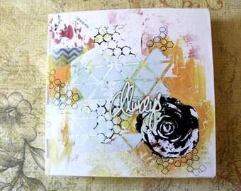 Handbound Art Journal Watercolour Sketchbook - Always