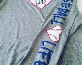 Baseball Life Hoodie, Baseball Mom Hoodie, Baseball Sweatshirt, Baseball Mom Gift, Baseball Mom Jacket, Baseball Life Shirt, Baseball