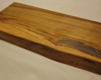 natural edge ambrosia maple serving tray