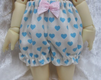 Super Dollfie Yo SD Blue Heart Bloomers