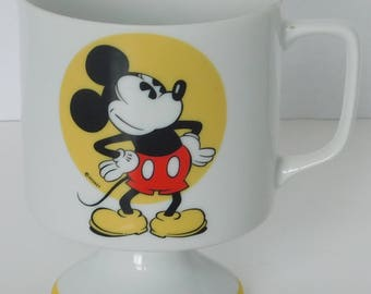 Mickey Mouse pedestal or footed cup