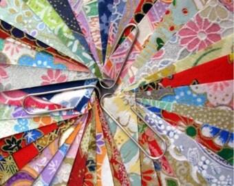 Washi paper destash 10cm x 10cm 12 pieces
