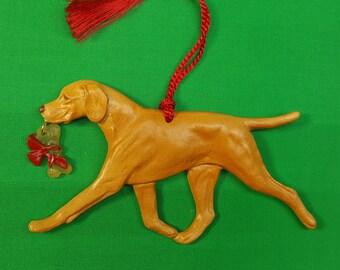 Vizsla Dog Christmas Ornament